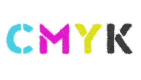 CMYK Royalty Free Stock Photo