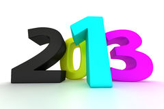 CMYK 2013 Stock Photo