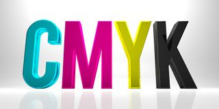 CMYK Royalty Free Stock Images