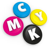 CMYK 免版税库存图片