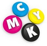 CMYK Royalty-vrije Stock Afbeelding