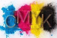 CMYK Image stock