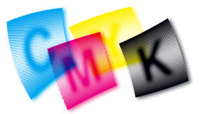 CMYK Royalty Free Stock Image