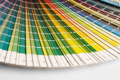 CMYK. Open CMYK sample colors catalogue stock images
