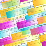 Cmyk. Abstract decorative background with lines and surfaces Stock Illustration