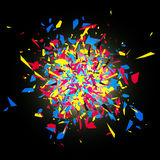 CMYK Abstract Explosion Stock Images