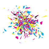 CMYK Abstract Explosion Stock Photography