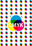 Cmyk business presentation Stock Images