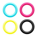 CMYK-Circle Stock Photography