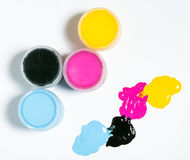 Cmyk color Royalty Free Stock Photo