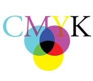 CMYK Color Concept Design Stock Photo