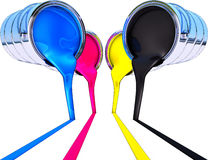 CMYK color Stock Photography