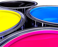 CMYK color Royalty Free Stock Photography