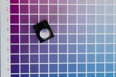 cmyk color management linen tester Royalty Free Stock Images