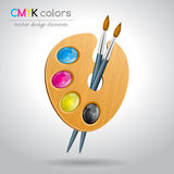 CMYK color mode Stock Photography