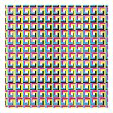 CMYK color mode patterns seamless. CMYK color mode pattern seamless Royalty Free Illustration