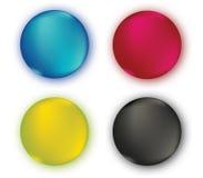 CMYK Color Set Stock Photo