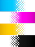 CMYK colors 3. Illustration in vector Royalty Free Stock Photo