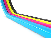 CMYK concept Stock Images