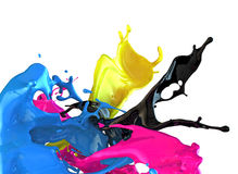 Cmyk concept Stock Image