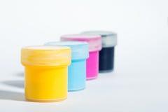 CMYK Farbe Lizenzfreies Stockfoto