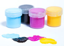 CMYK Farbe Lizenzfreies Stockbild