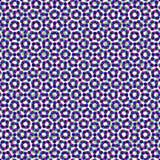 CMYK halftone seamless pattern. Royalty Free Stock Photo