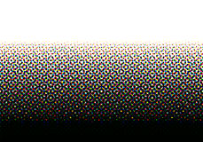 CMYK halftone seamless pattern. Royalty Free Stock Photos