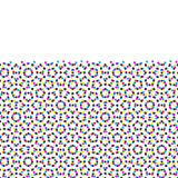 CMYK halftone seamless pattern. Stock Photo