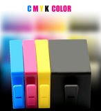 CMYK INK Stock Photography