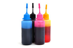 Cmyk ink Royalty Free Stock Photo