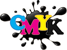 CMYK ink Royalty Free Stock Photography