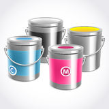 CMYK inks Stock Images