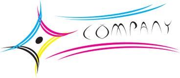 cmyk logo Zdjęcia Royalty Free