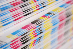 CMYK offset printing concept Stock Photo