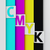 CMYK pages Royalty Free Stock Photo