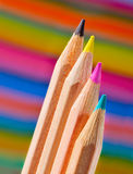 CMYK pencils Stock Images