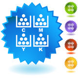 CMYK Printing Royalty Free Stock Photo