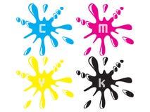 Cmyk printing colour Royalty Free Stock Image