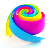 CMYK Rose Stock Photography
