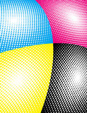 cmyk seglar Stock Illustrationer