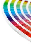 CMYK Swatches Royalty Free Stock Photos