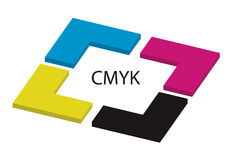 Cmyk  - vector Stock Photos