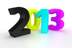 CMYK year 2013 Stock Photo