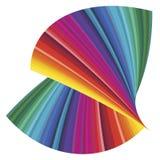 cmykfärgspectrum Arkivbild