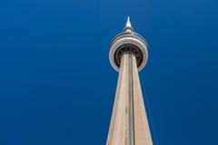 CN塔,多伦多,安大略,加拿大 免版税库存照片