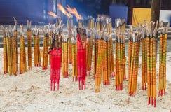 CN灼烧的棍子沙子 免版税库存照片