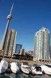 cn architekturę Toronto Fotografia Royalty Free