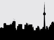cn miejsca budowy skyline żaglówek Toronto pierwszoplanowy wieży Zdjęcie Royalty Free
