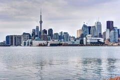 cn miejsca budowy skyline żaglówek Toronto pierwszoplanowy wieży Obraz Stock